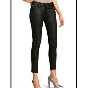 🆕 WILLIAM RAST Tony Legging Jeans 31 Black Coated